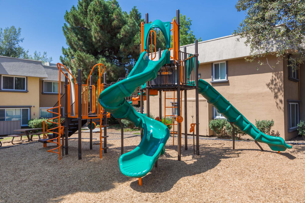 Onsite children's playground at Waterstone Fremont in Fremont, California