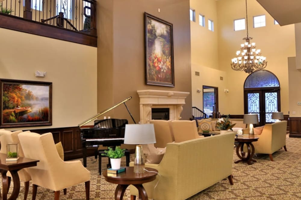 A common area at The Retreat at Sunbrook in St. George, Utah