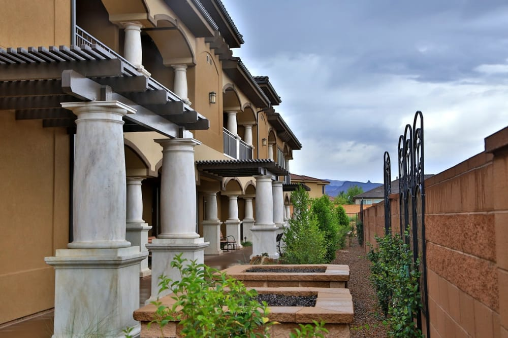 Outside of The Retreat at Sunbrook in St. George, Utah