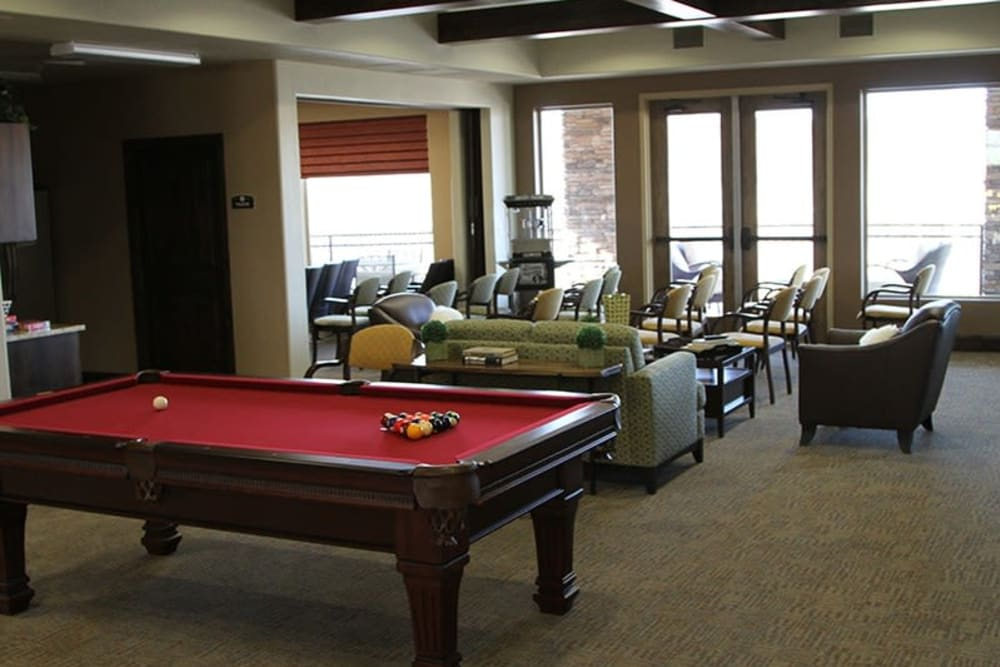 Common area at The Retreat at Sunriver in St. George, Utah
