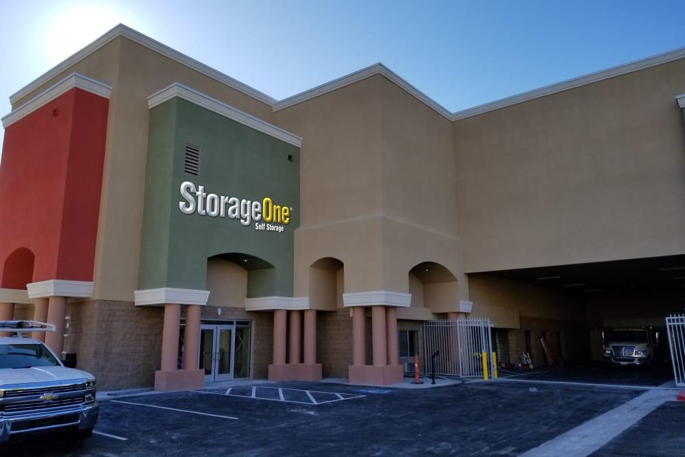 StorageOne Eastern & Silverado Ranch in Las Vegas, Nevada exterior