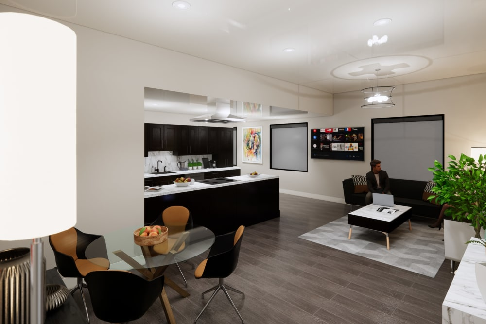 Our Apartments in Seattle, Washington offer a Kitchen