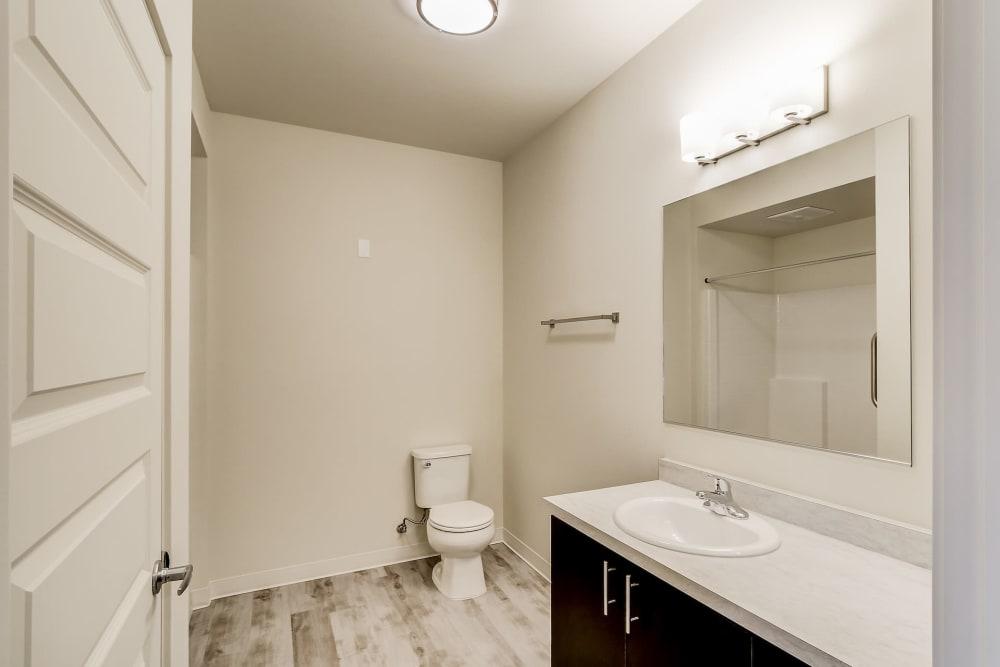 Bathroom at LARC at Burien in Burien, WA