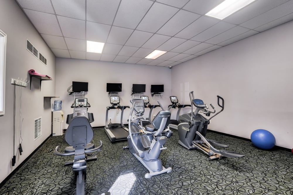 Our Apartments in Alexandria, Virginia offer a Fitness Center