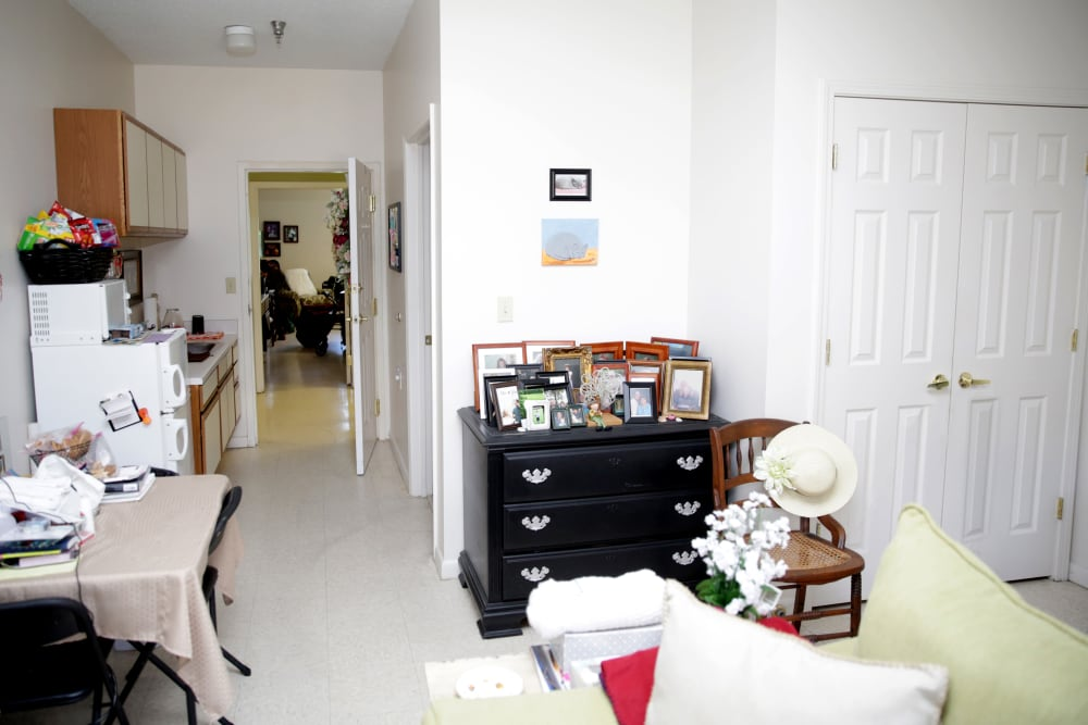 Spacious floor plans at Providence Assisted Living in Cleveland, Mississippi.