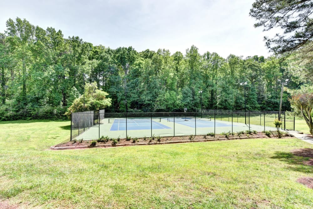 Enjoy Apartments with a Tennis Court at Fields at Peachtree Corners
