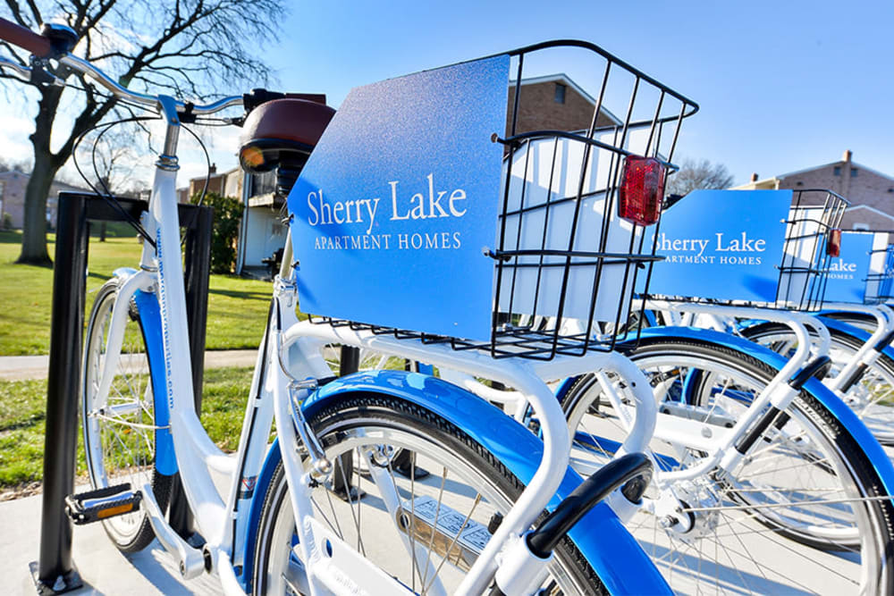 Our Apartments in Conshohocken, Pennsylvania offer a Resident Commuter Bikes