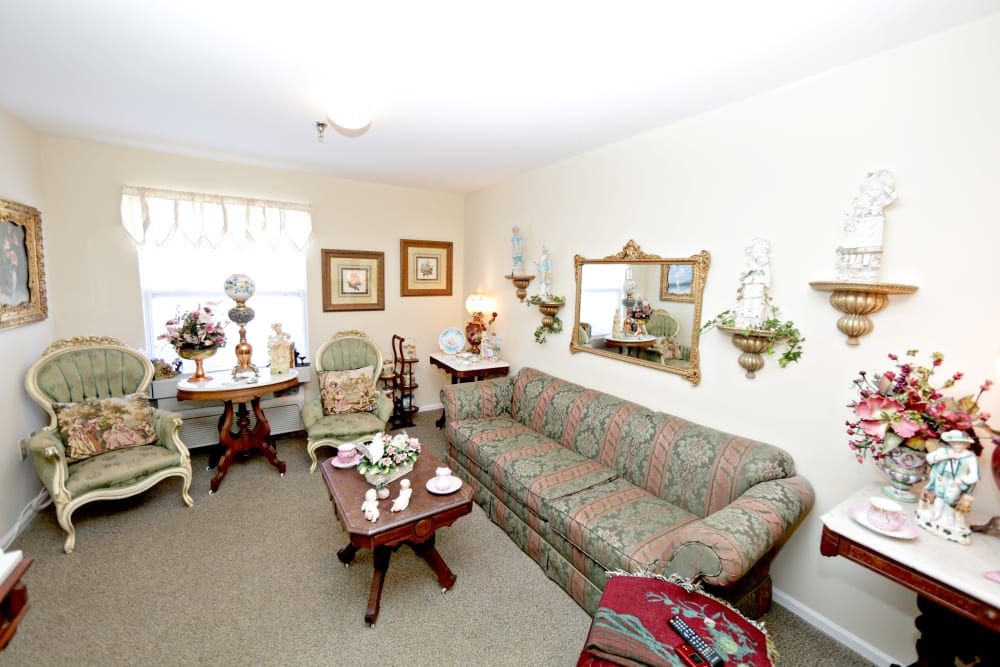 Spacious floor plans available at Providence Assisted Living in Senatobia, Mississippi