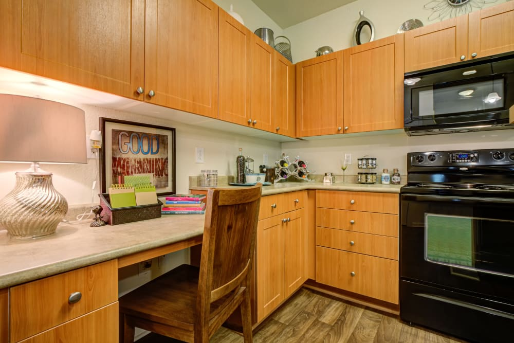 Preserve at Steele Creek offers a Kitchen in Charlotte, North Carolina