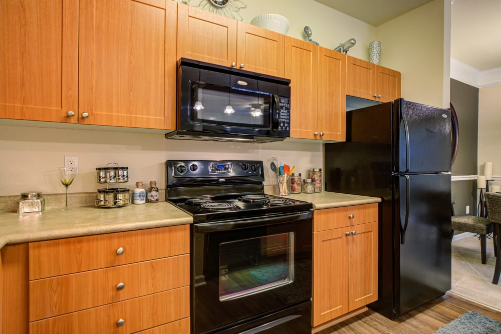 Our Apartments in Charlotte, North Carolina offer a Kitchen