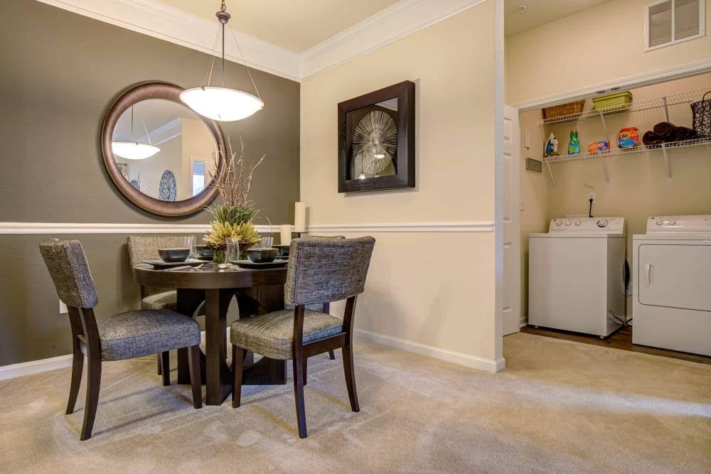 Enjoy Apartments with a Dining Room at Preserve at Steele Creek