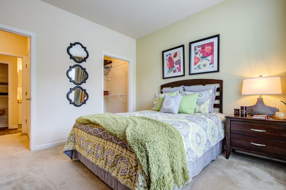 Our Unique Apartments in Charlotte, North Carolina showcase a Bedroom