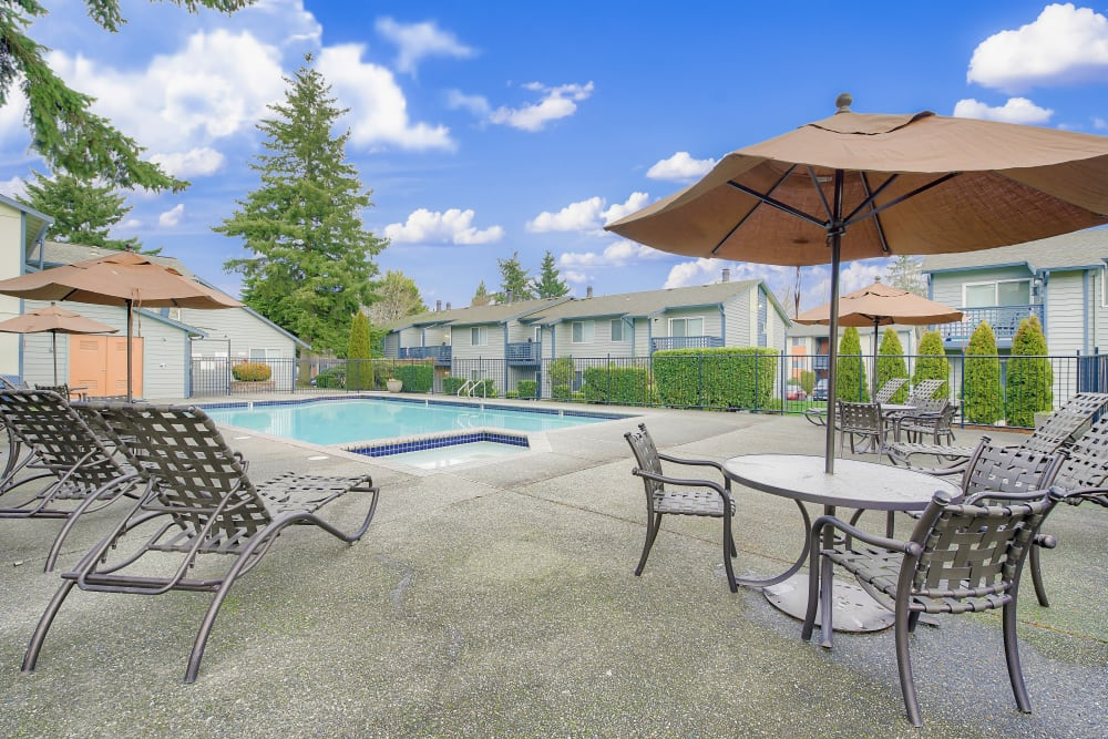 Enjoy Apartments with a Swimming Pool at Copperstone Apartment Homes