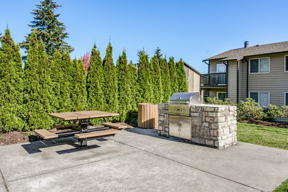 Enjoy Apartments with a BBQ Area at Copperstone Apartment Homes