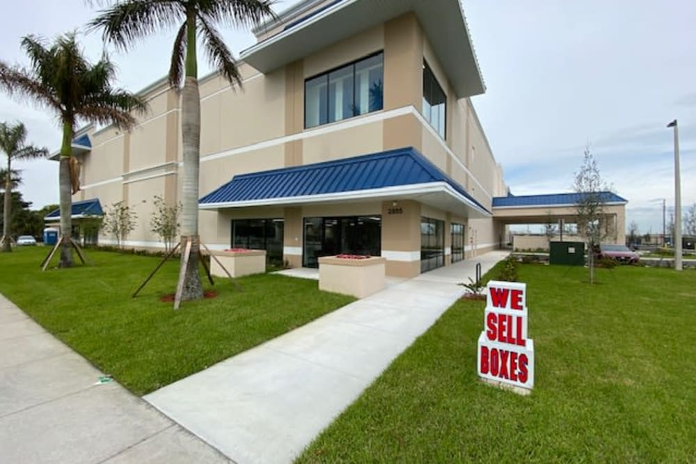 Exterior at Top Self Storage in Pompano Beach, Florida
