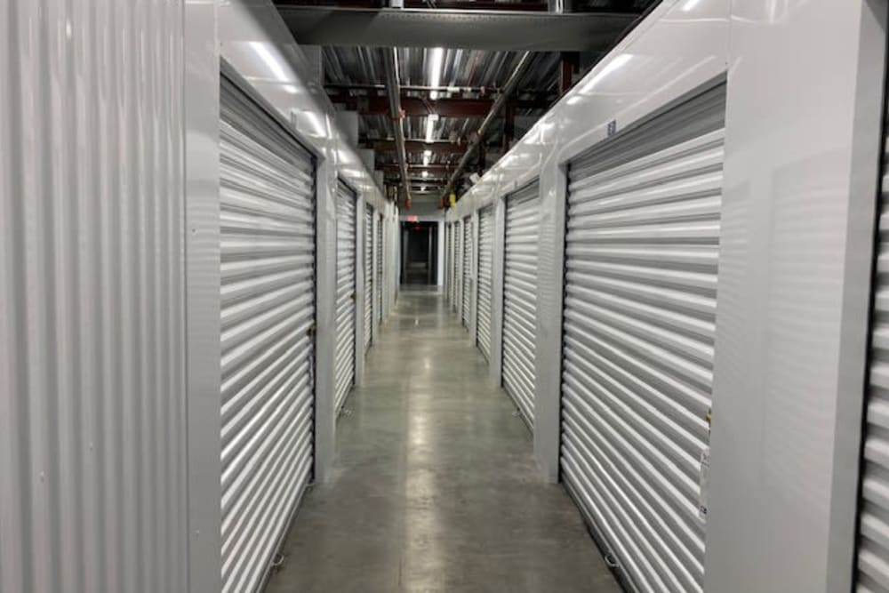 Interior units at Top Self Storage in Pompano Beach, Florida