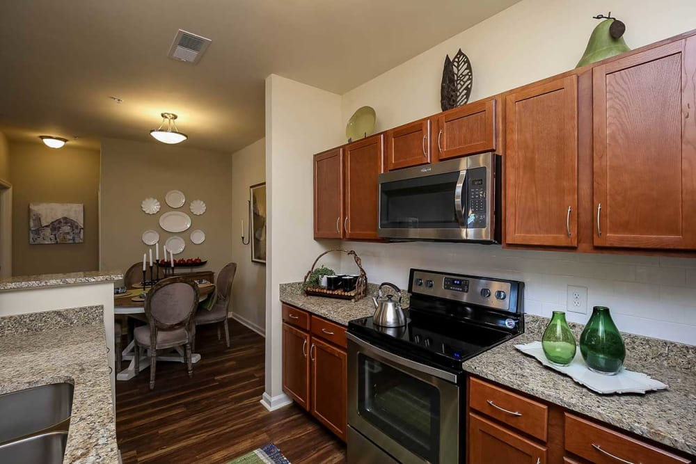 Kitchen at Commonwealth at 31 in Spring Hill, Tennessee