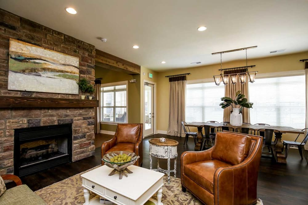 Living and dining area model at Commonwealth at 31 in Spring Hill, Tennessee