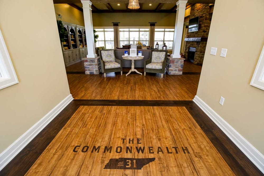 Main entrance at Commonwealth at 31 in Spring Hill, Tennessee