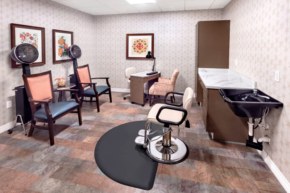 Hair salon at Brooklyn Pointe in Brooklyn, Ohio