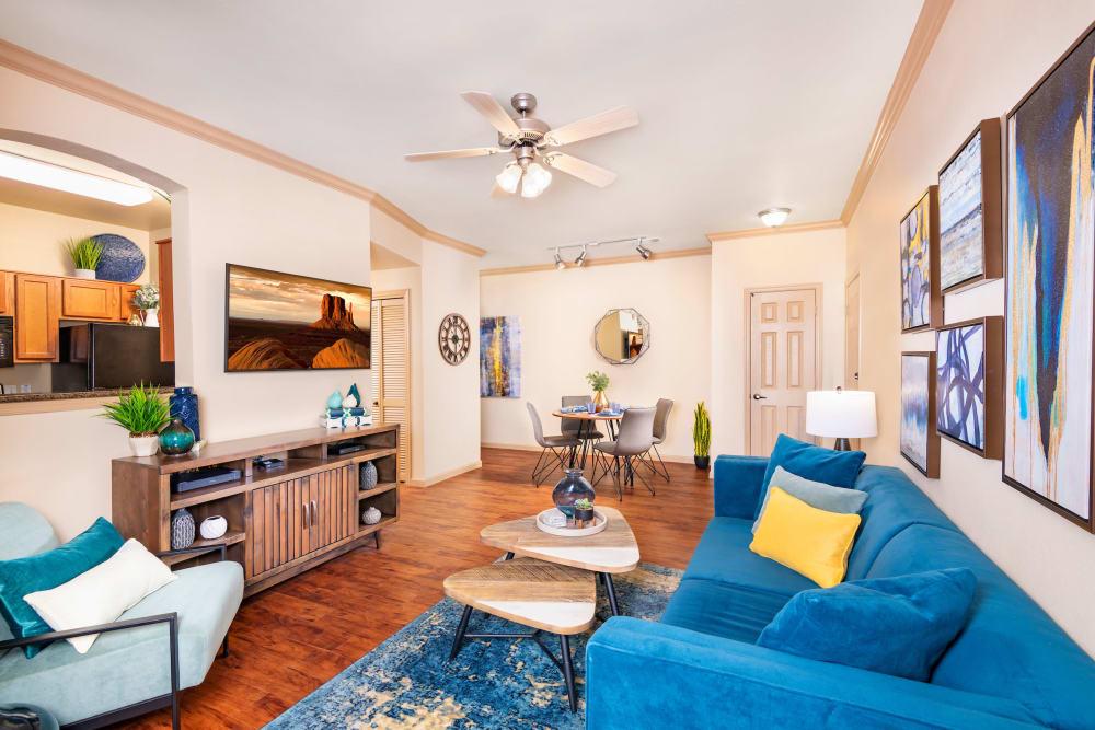 Spacious Living Room at Las Colinas at Black Canyon in Phoenix, Arizona
