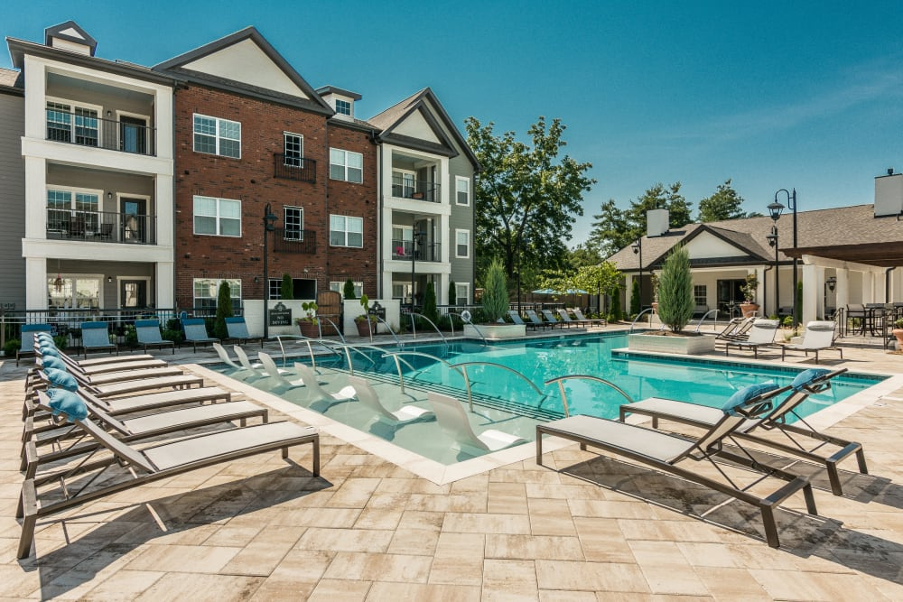 Swimming Pool at Springfield Apartments in Murfreesboro, Tennessee
