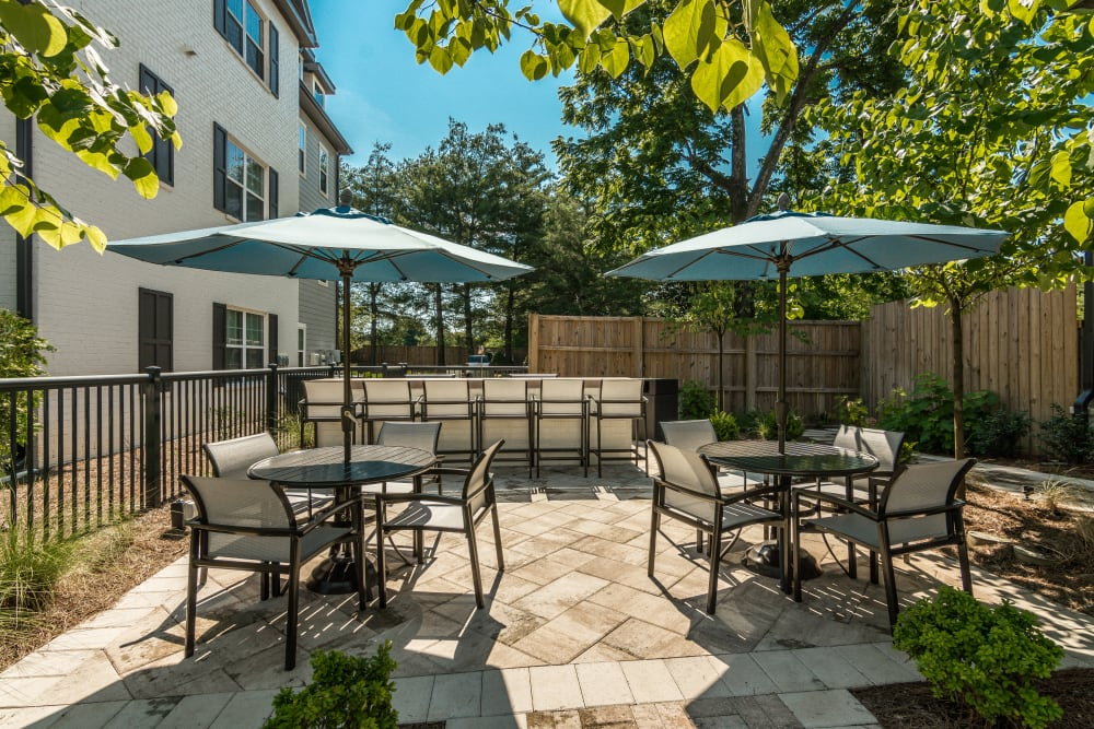 BBQ Grilling Area at Springfield Apartments in Murfreesboro, Tennessee