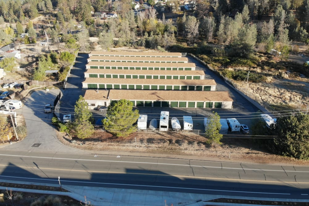 Grass valley facility at Superior Self Storage in Grass Valley, California