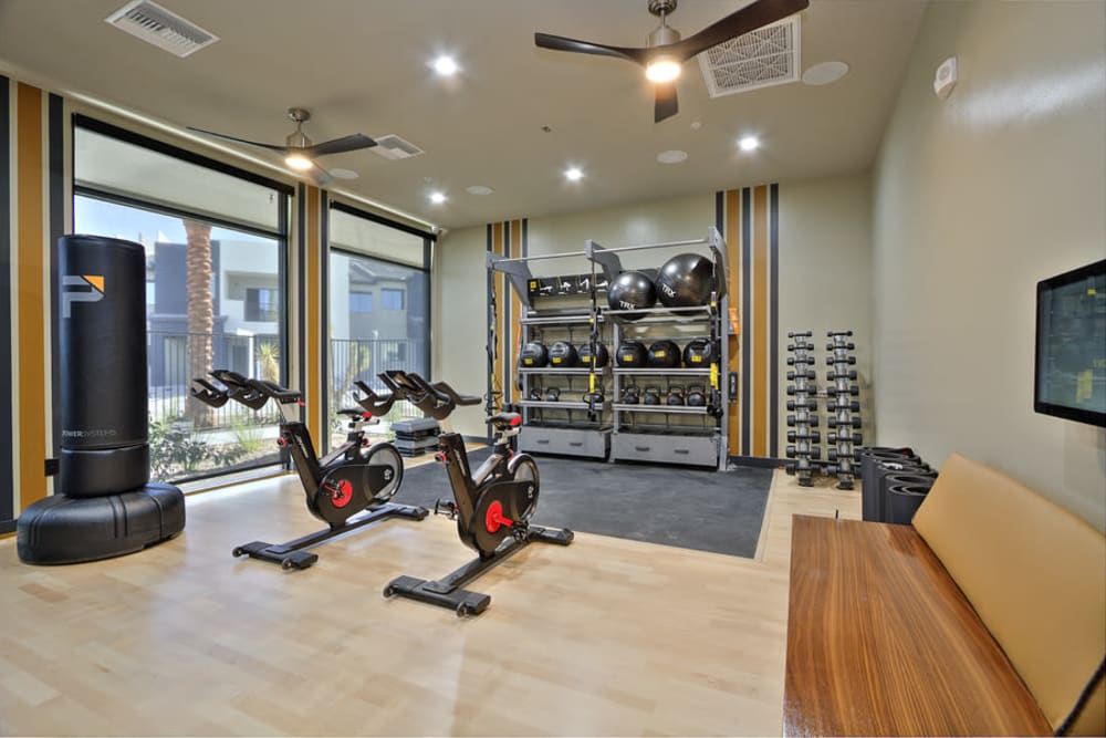 Enjoy Apartments with a Gym at The Aviator in Henderson, Nevada
