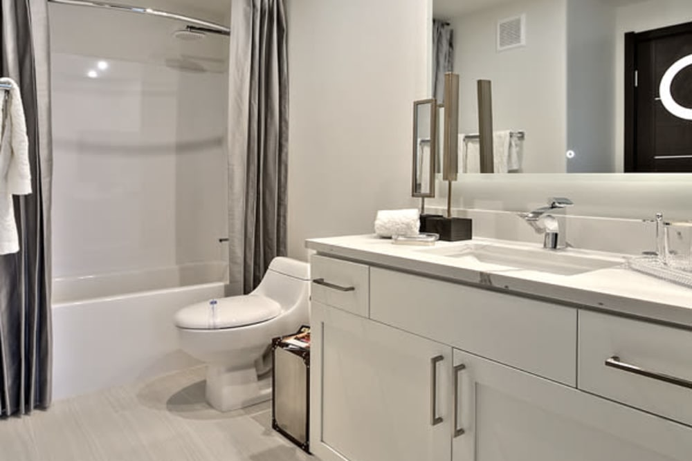 Bathroom at The Aviator in Henderson, Nevada