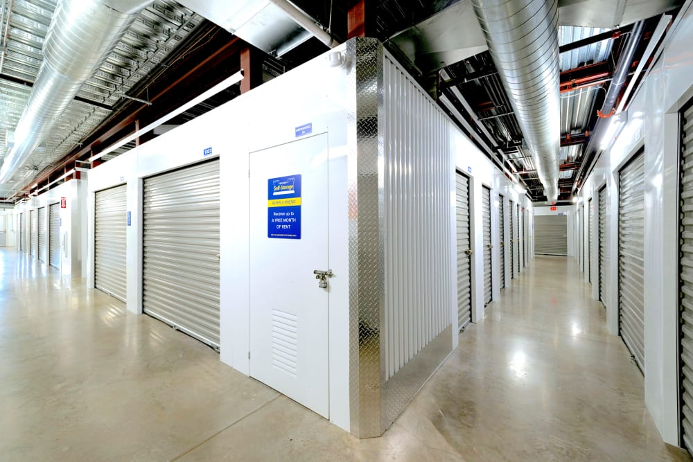 Interior units at Security Self-Storage