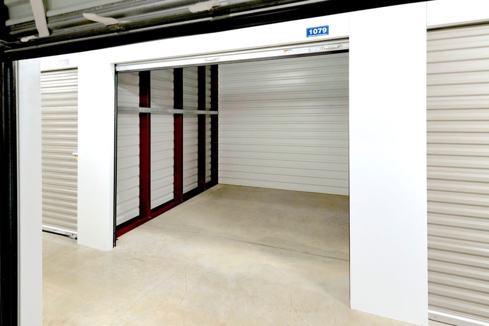 Roll up door at Security Self-Storage