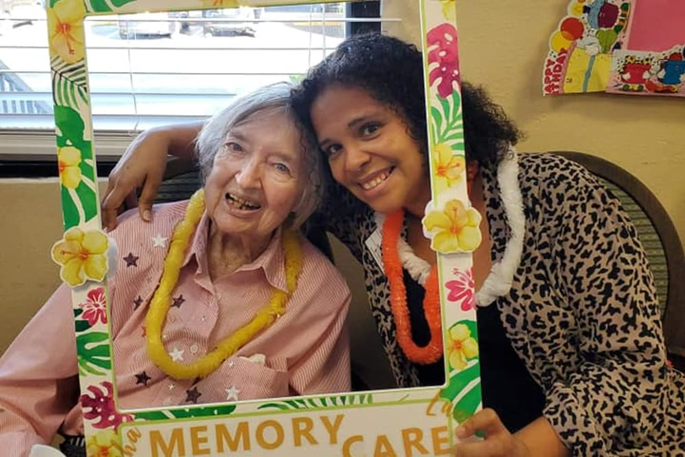 Memory Care family night at Spring Haven in Winter Haven, Florida
