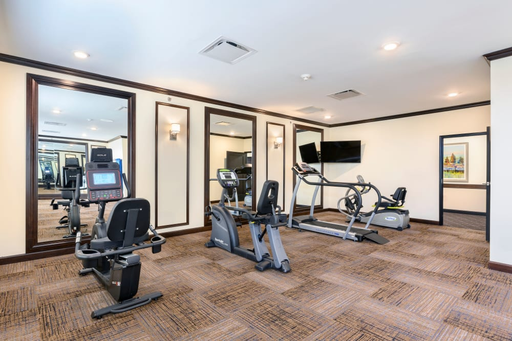 Exercise room at Smith's Mill Health Campus