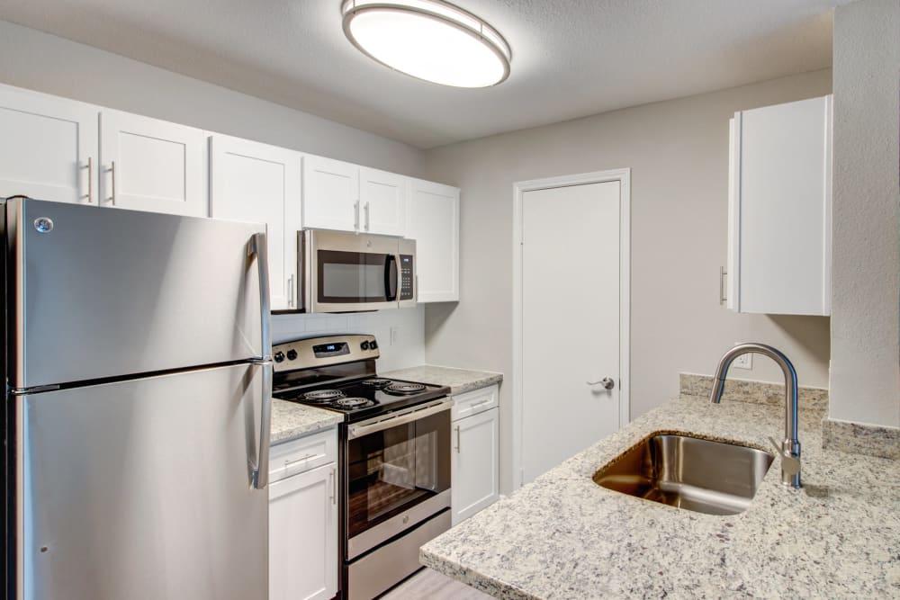 Kitchen at Apartments in Houston, Texas
