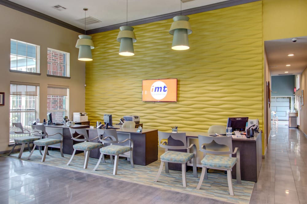 Leasing Office at IMT At The Medical Center in Houston, Texas