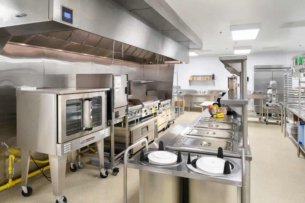 Inside look at the kitchen at Smith's Mill Health Campus