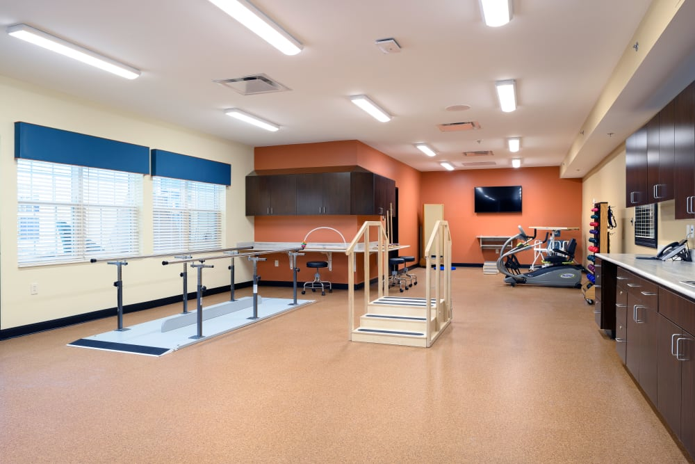 Therapy room at Smith's Mill Health Campus