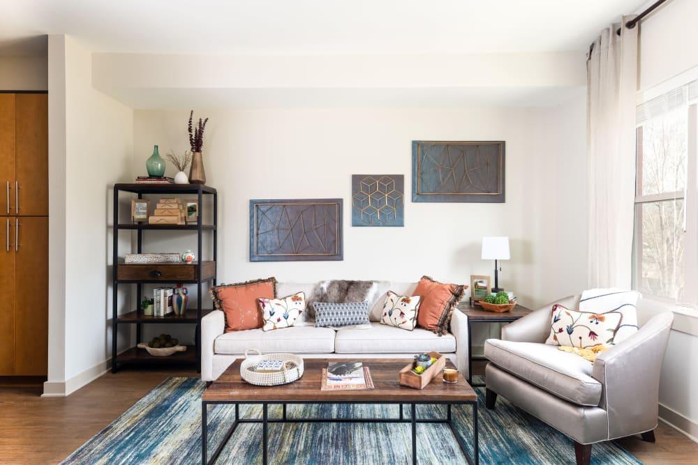 Living Room │ Station 40 Apartments Nashville, TN