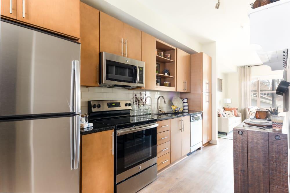 Apartment Kitchen │ Station 40 Apartments Nashville, TN