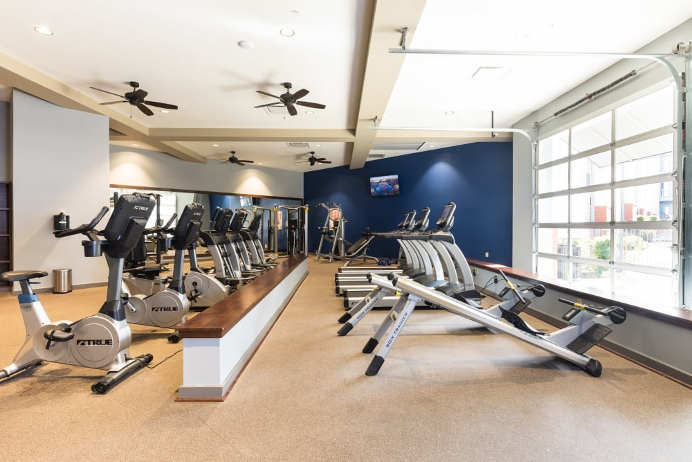 Fitness Center │ Station 40 Apartments Nashville, TN