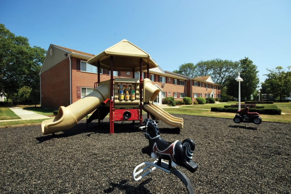 Community playground at Mid Island Apartments Bay Shore, New York