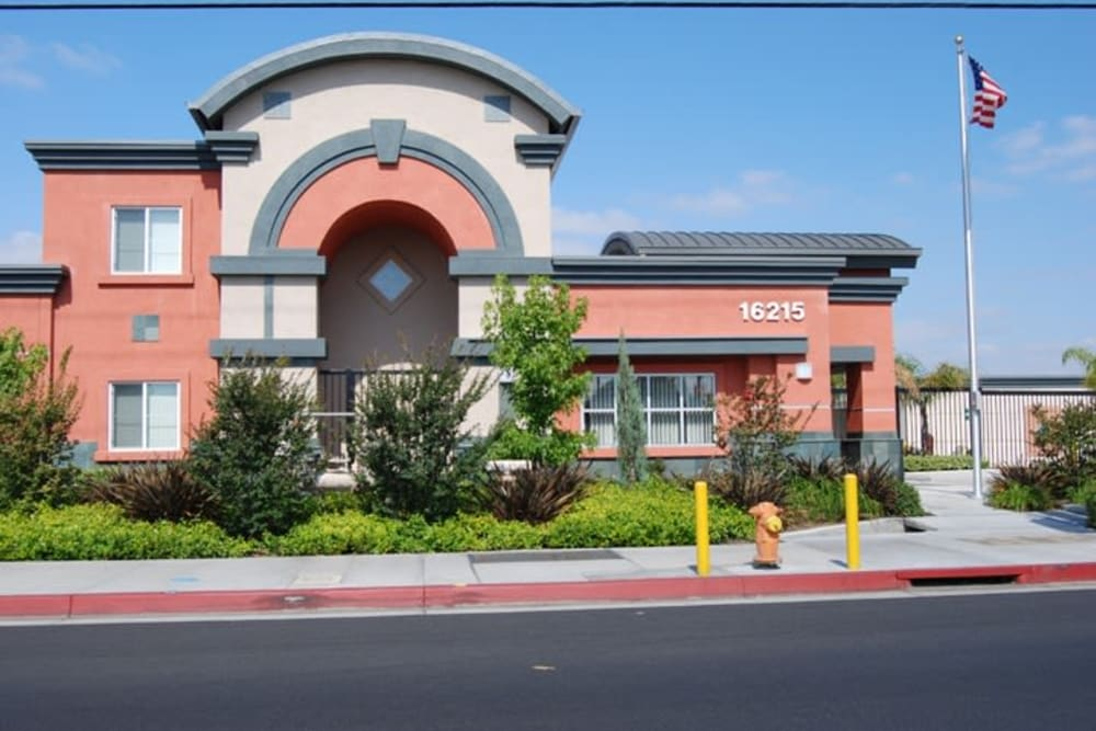 Walk up at Your Space Self Storage in Norwalk.