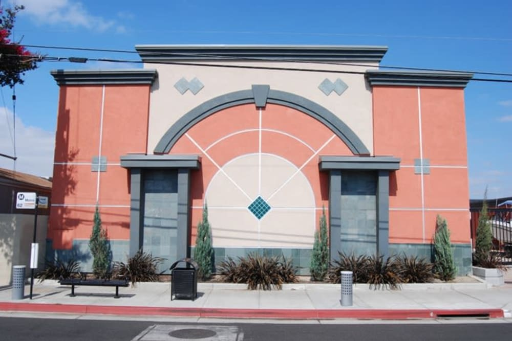 Exteriors at Your Space Self Storage in Norwalk.