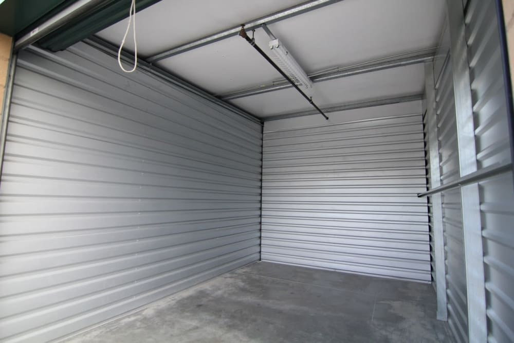 Storage units at Your Space Self Storage in Norwalk.