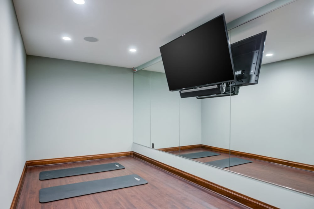 Body movement and Yoga studio at Sofi at Morristown Station in Morristown, New Jersey