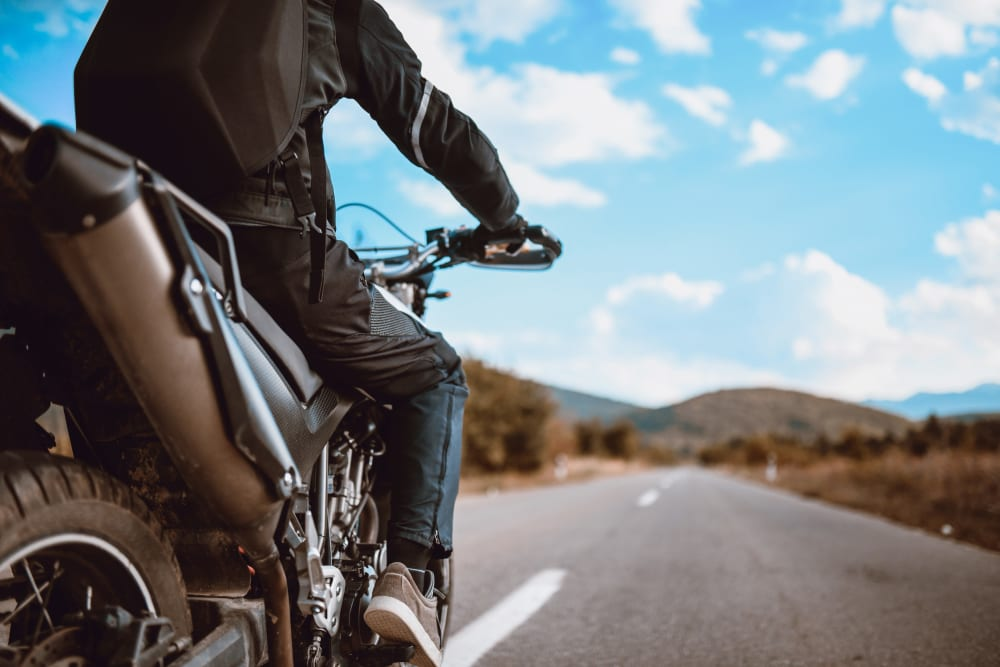 Motorcycle storage in Murfreesboro, Tennessee at Secure Storage
