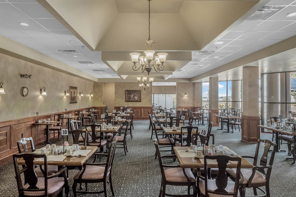 Dining area at Spring Haven in Winter Haven, Florida