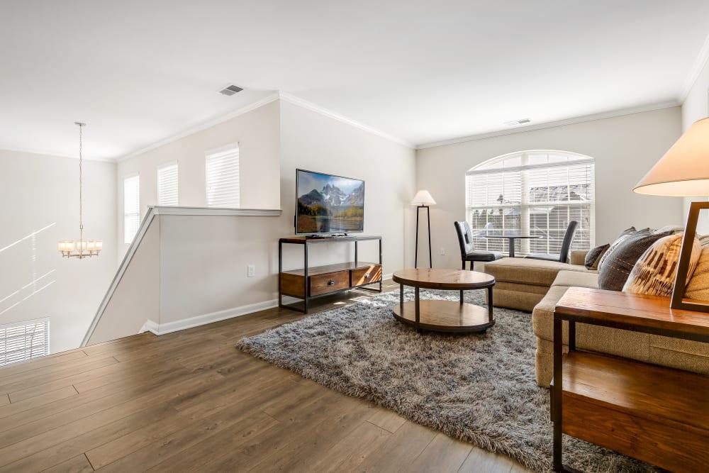 An apartment loft at Singh Apartments in Michigan