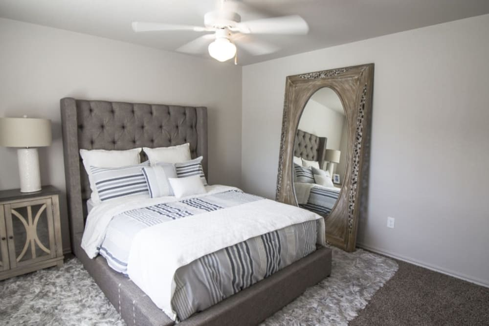 Spacious bedroom at Legacy Trail in Norman, Oklahoma